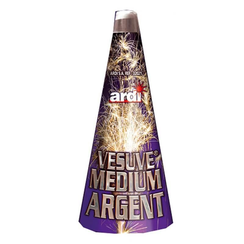 Vésuve Medium Argent