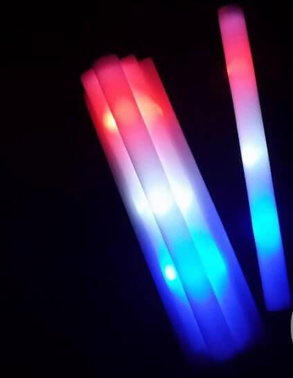 Bâton lumineux LED Tri-couleur