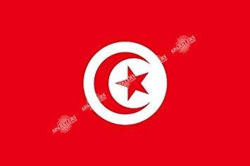 Drapeau Tunisie 90x150cm