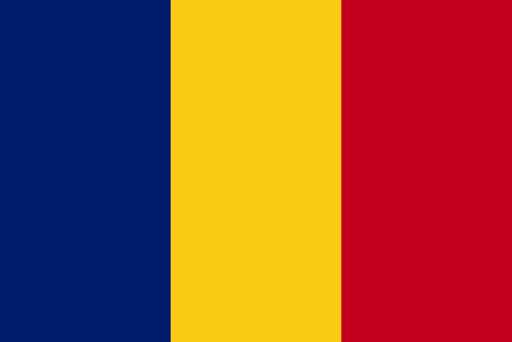 Drapeau Roumanie 90x150cm