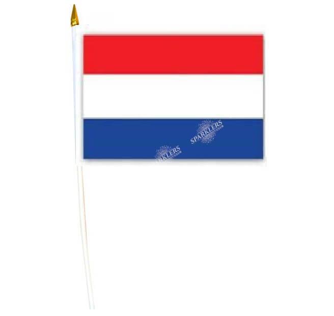Drapeau Pays-Bas 30x45cm avec baguette