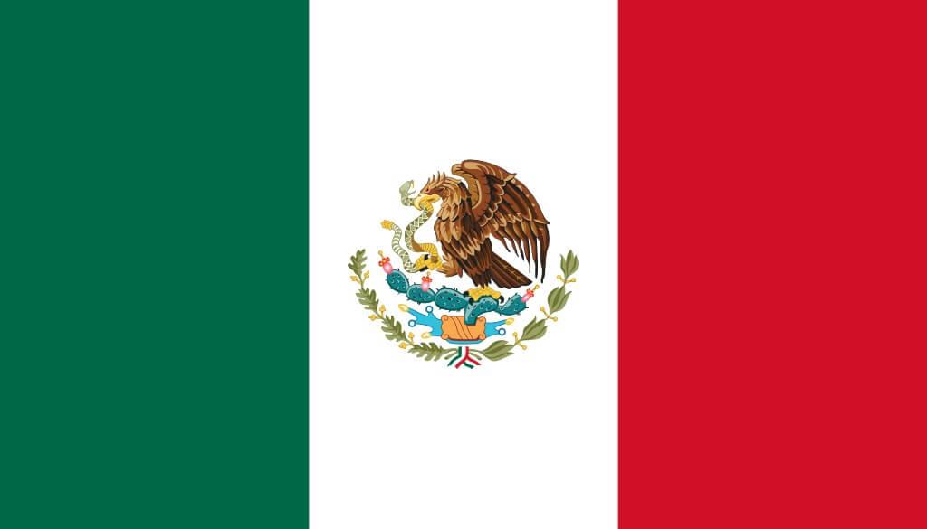 Drapeau Mexique 90x150cm