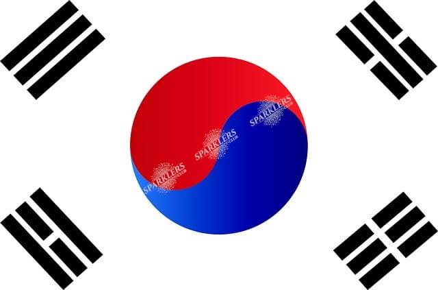 Drapeau Corée du Sud 90x150cm