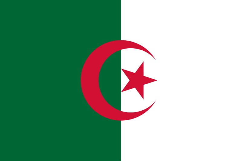 Drapeau Algérie 90x150cm