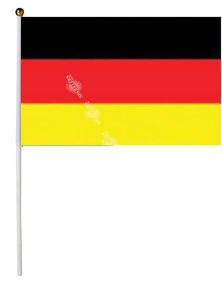 Drapeau Allemagne 30x45cm avec baguette