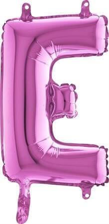 Ballon Lettre E Rose - 35cm