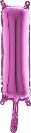 Ballon Lettre I Rose - 35cm