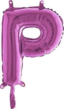 Ballon Lettre P Rose - 35cm
