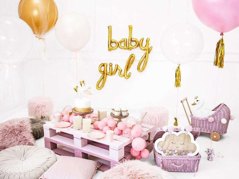 Ballon Métallique Baby Or 73x75cm