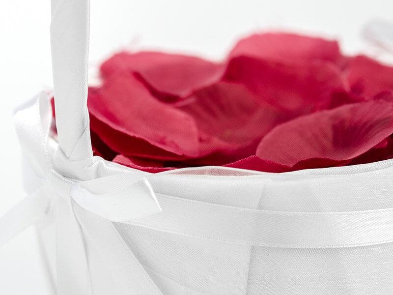 Panier de Mariage pour pétales de roses