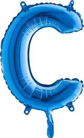 Ballon Lettre C Bleu