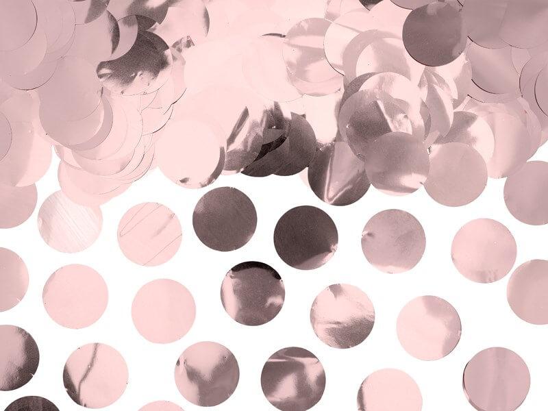 Confettis ronds Or Rose (15gr)
