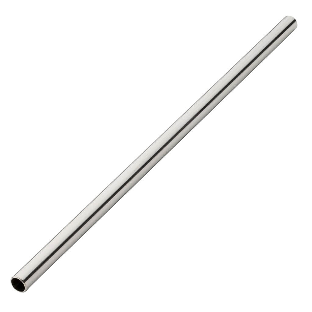 Paille inox réutilisable 14cm /ø6mm (12pcs)