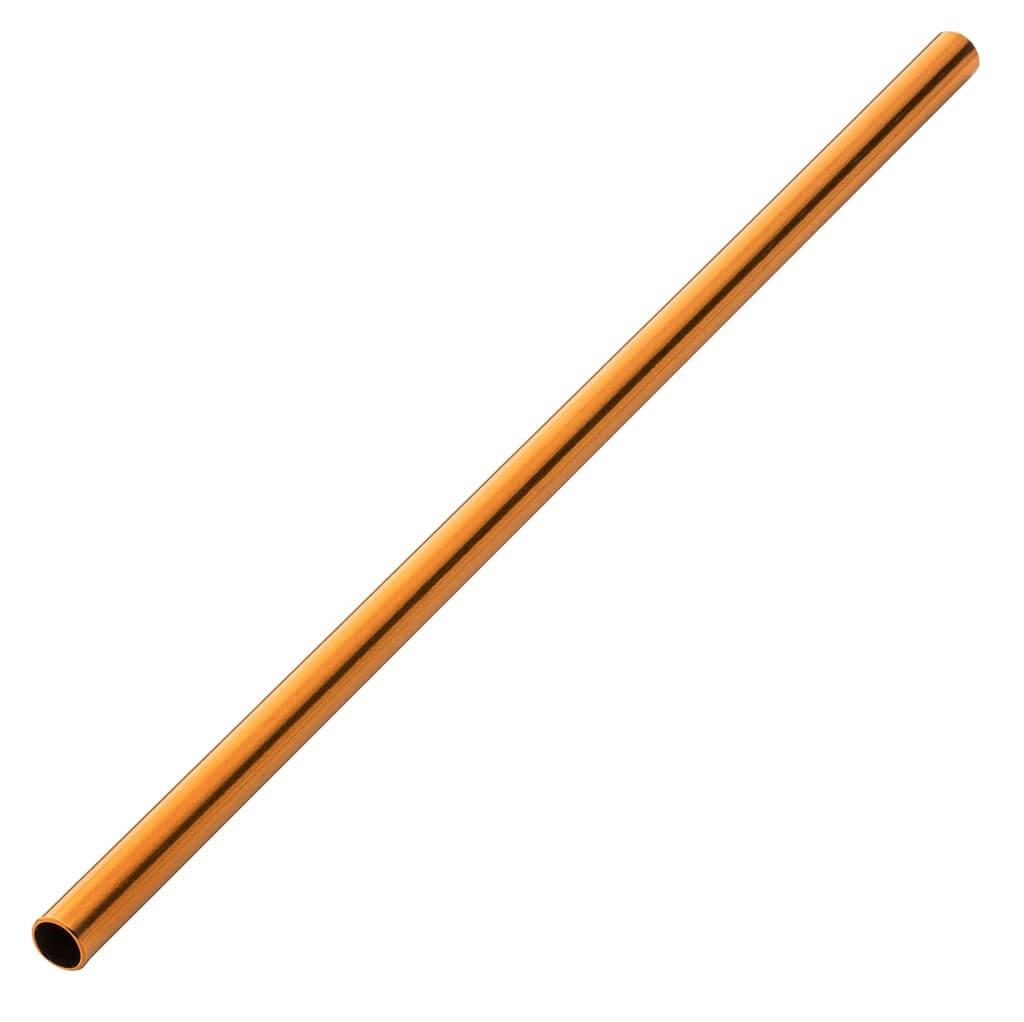 Paille inox réutilisable Or rose 14cm /ø6mm (12pcs)