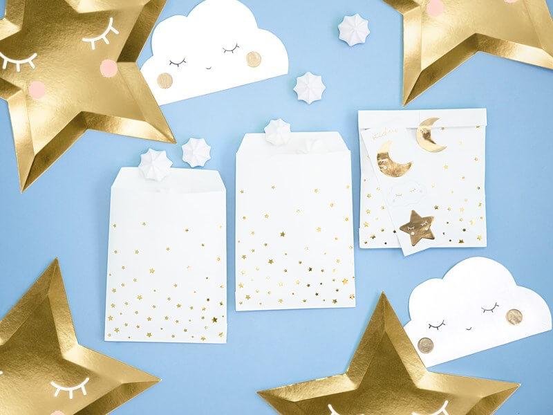 Serviette en papier forme nuage (Lot de 20)