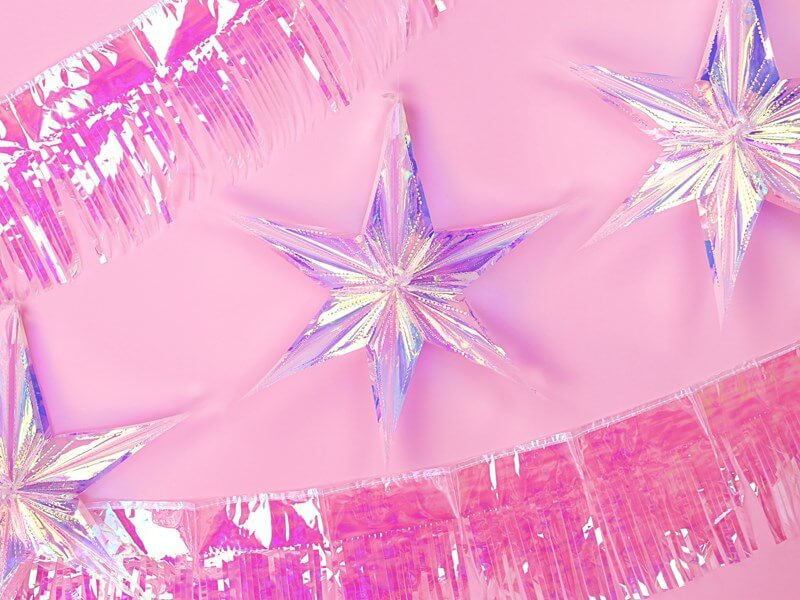 Étoile irisée 40cm