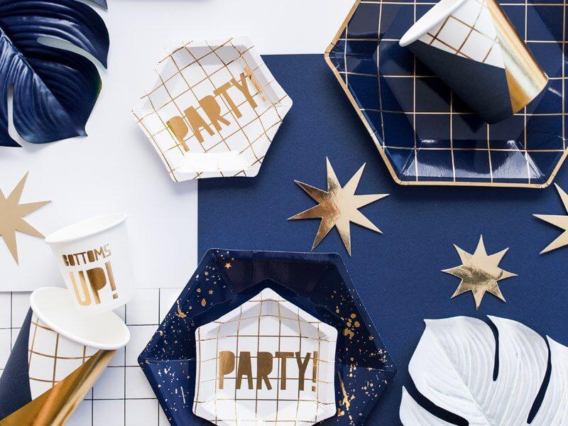 """Assiette en papier 'Party"""" (Lot de 6)"""
