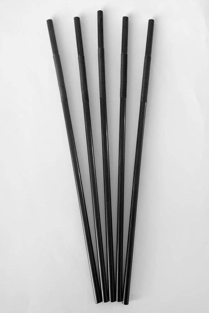"""Grande Paille """"Crazy"""" Biodégradable PLA flexible (250pcs)"""