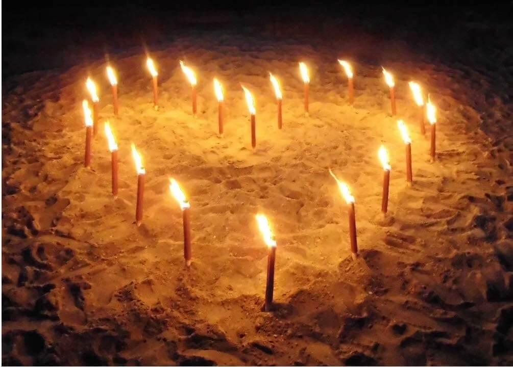 Torche flambeaux en cire 45 minutes Ardi