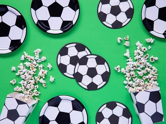 Serviette en papier Ballon de Foot (Lot de 20)