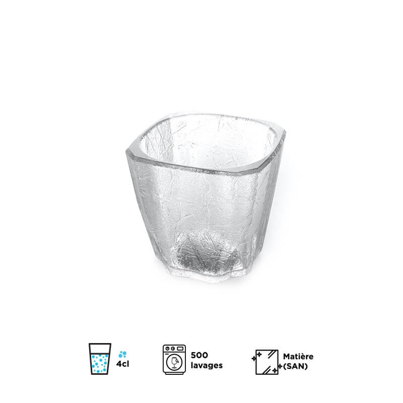 Verre Shooter CUBE 4cl