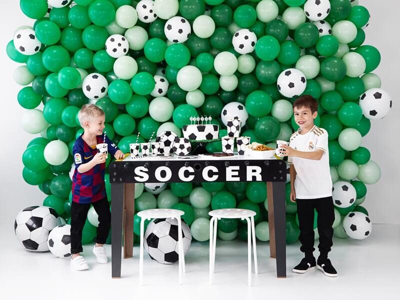 Bougie ballon de foot (lot de 6)