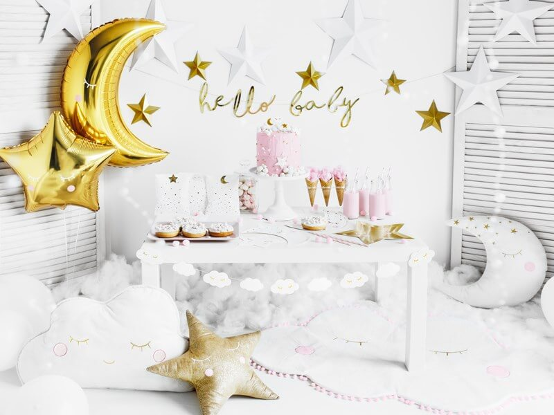 "Bougies  d'anniversaire ""Little Star"" Or (lot de 5)"