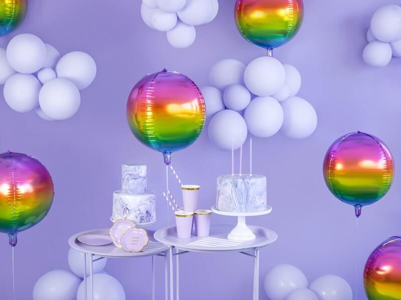 12 bougies anniversaire violet (14cm)