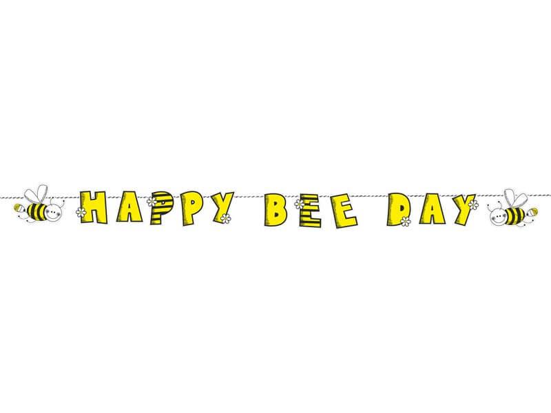 Guirlande Happy Bee Day Abeille