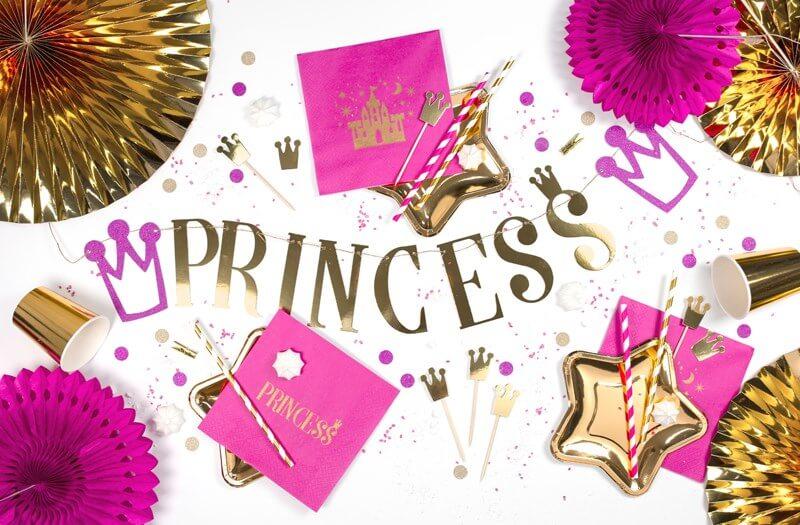 """Guirlande en papier """"Princess"""""""