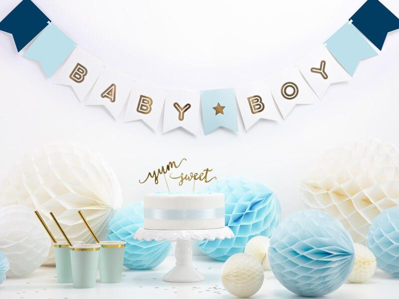 Guirlande en papier Baby Boy