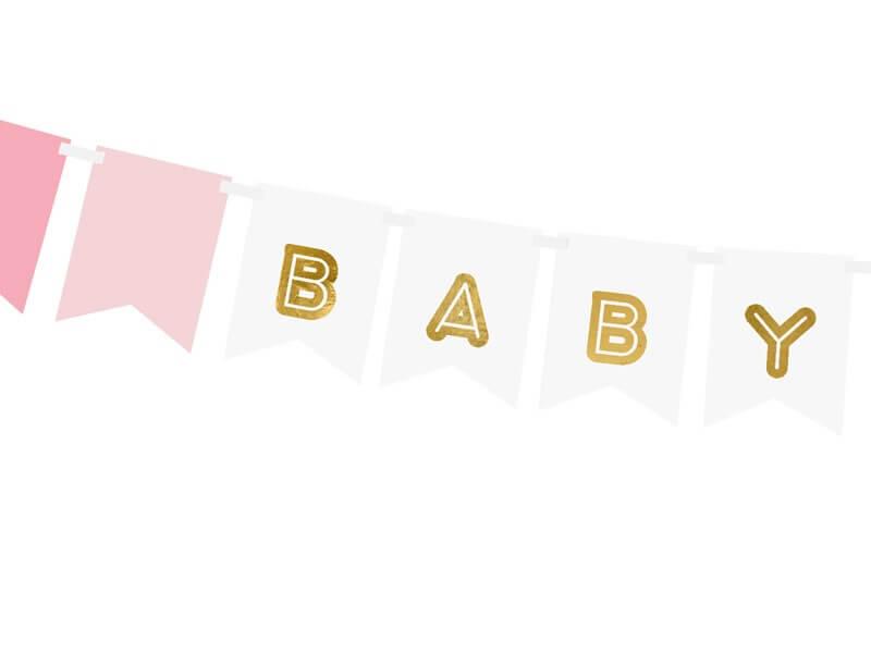 Guirlande en papier Baby Girl