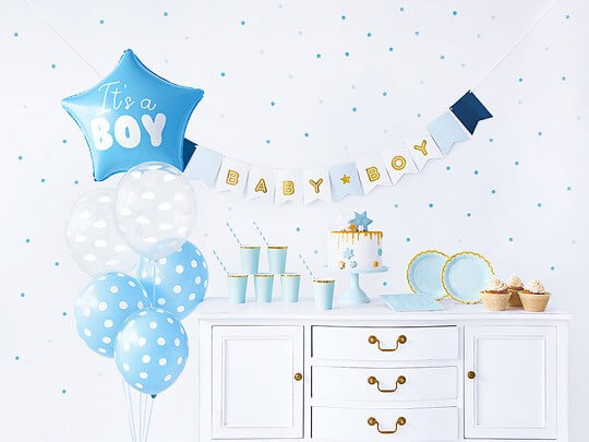 """Kit décoration """"It's a Boy"""""""