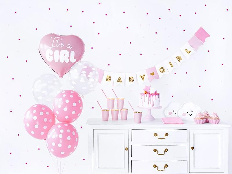 """Kit décoration """"It's a Girl"""""""