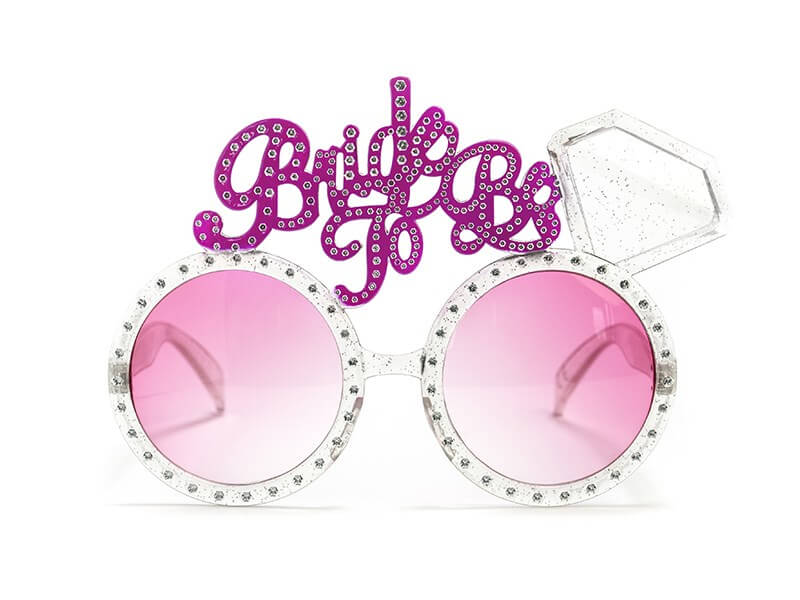 Lunettes roses BRIDE TO BE