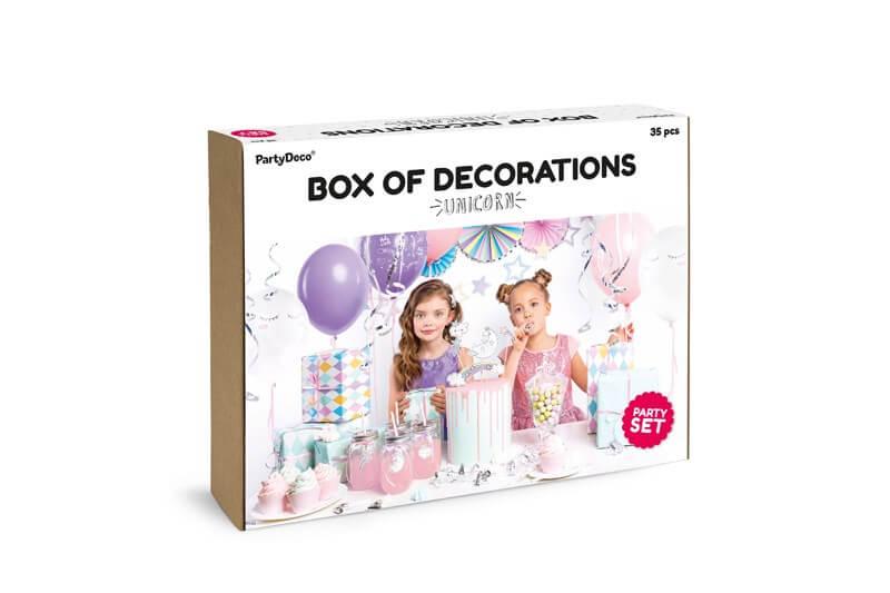 Kit décoration anniversaire Licorne