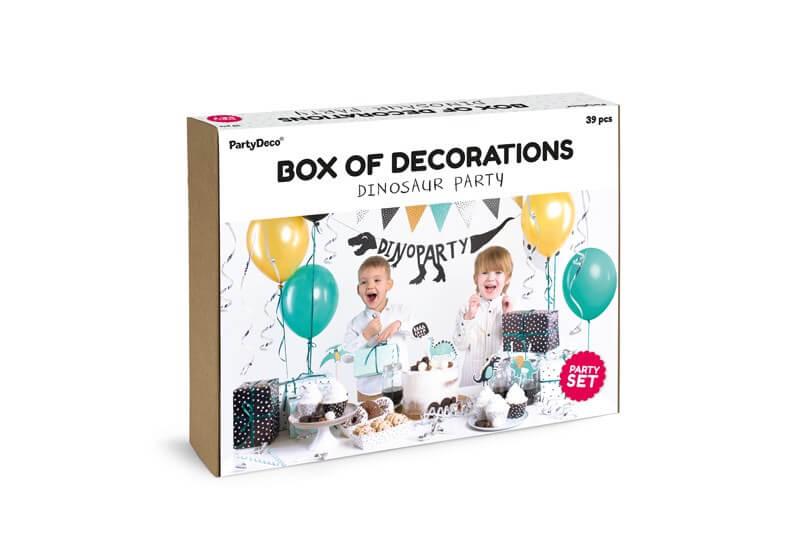 Kit décoration anniversaire Thème Dinosaure