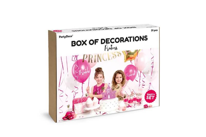 Kit décoration anniversaire Thème Princesse