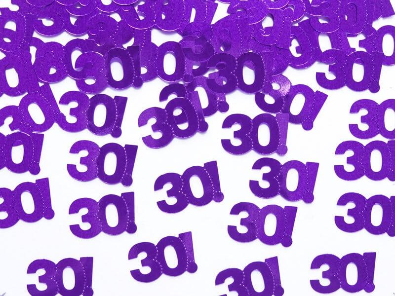 Confettis de table 30 ans (15gr)