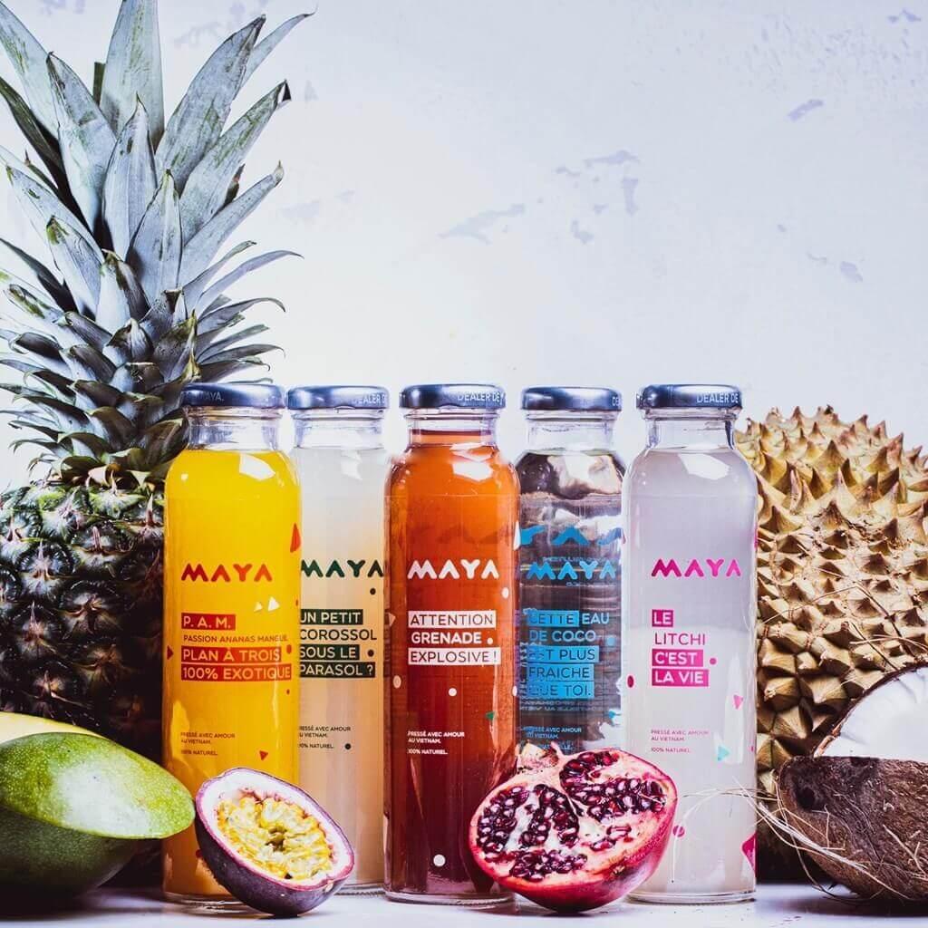 Jus de fruit eau de coco