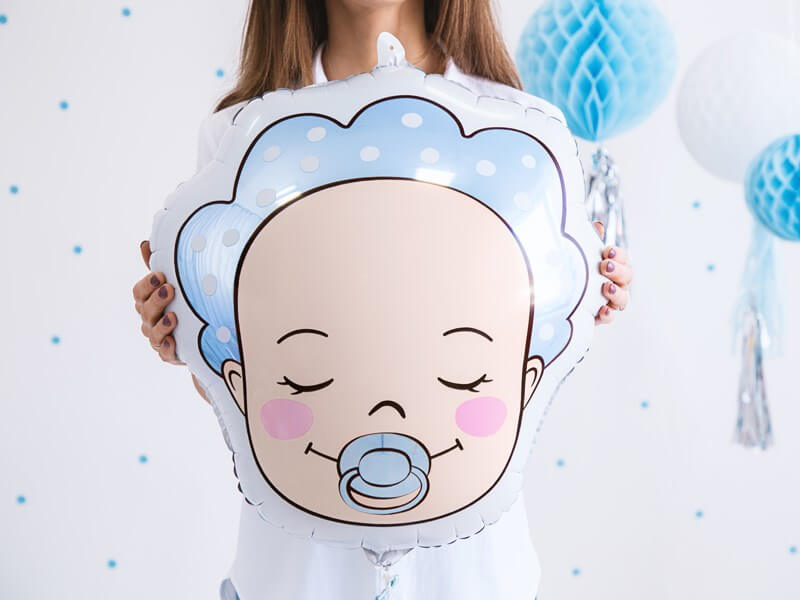Ballon Baby Boy Bleu 40x45cm
