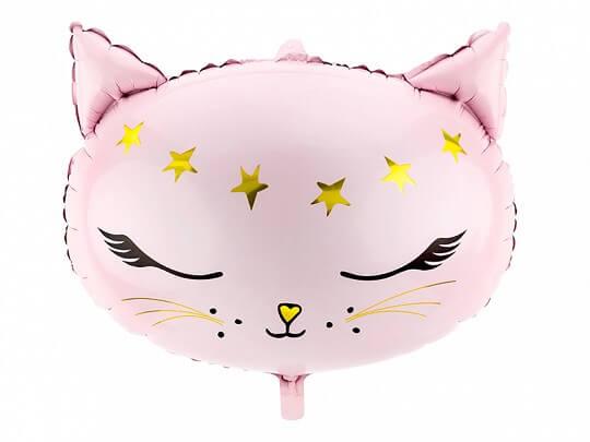 Ballon Tête de Chat 48x36cm