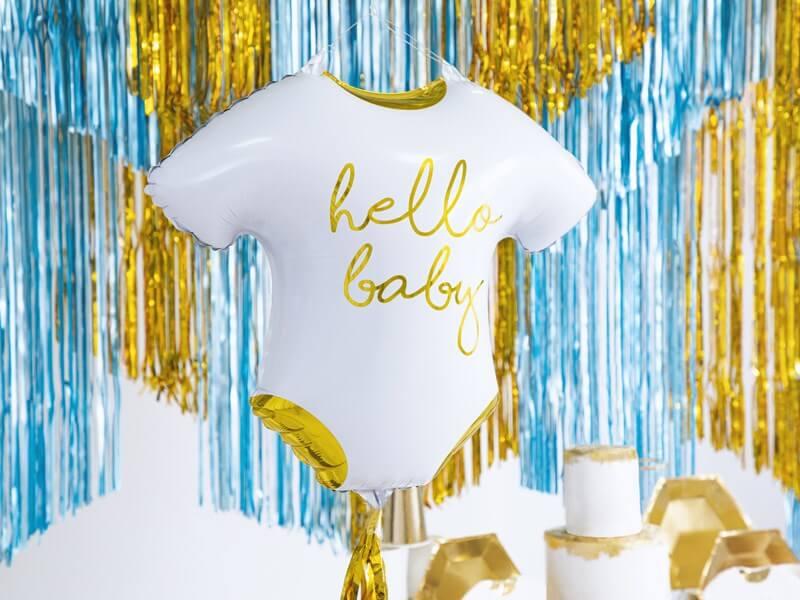Ballon Hello Baby 51x45cm
