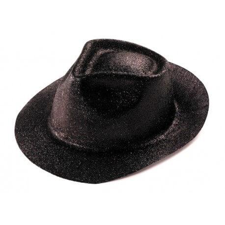 Chapeau BORSALINO paillette noir
