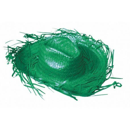 Chapeau Cowboy caraïbe vert