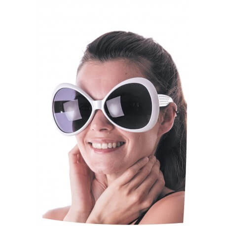 Lunettes Butterfly Blanches