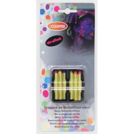 Boîte de 6 crayons gras fluos