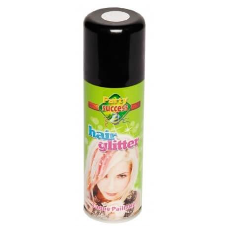 Bombe Spray Pour Cheveux Paillette Argent