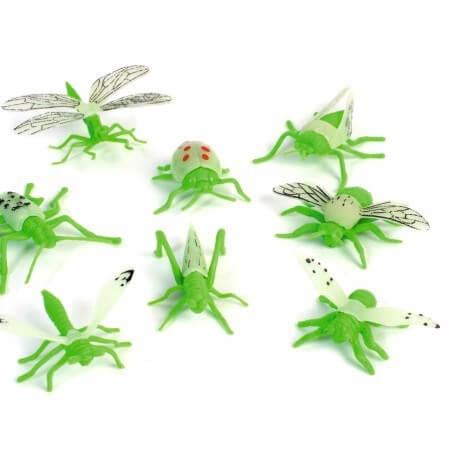 Insecte phosphorescent vert