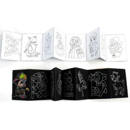 Album magique à colorier